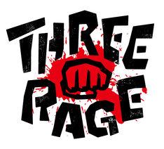 「Three Rage」ロゴ