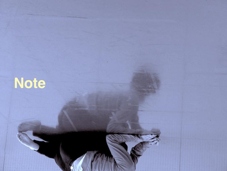 じゅんじゅんSCIENCE「Note -じゅんじゅんSCIENCE ダンス小作品集-」ビジュアル