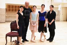 左から高橋怜衣、ルーク・ヘイドン、成田紗弥、杉山桃子、浅川紫織。