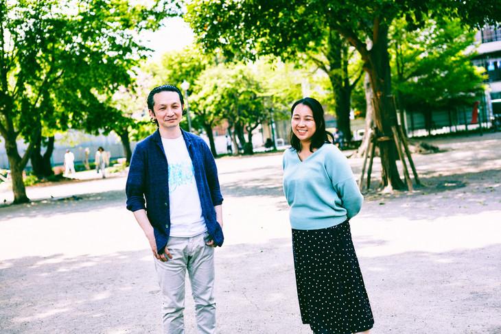 左からディレクターの長島確、共同ディレクターの河合千佳。