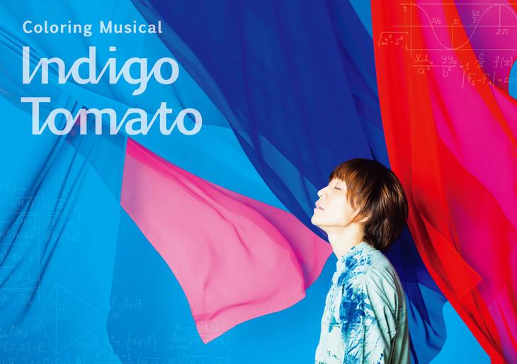 Coloring Musical「Indigo Tomato」ビジュアル