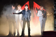 宝塚歌劇花組「TAKARAZUKA MUSICAL ROMANCE『花より男子』」より。