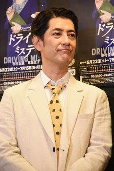「53歳で最年少。フレッシュな気持ちでやらせてもらっています」と語る堀部圭亮。