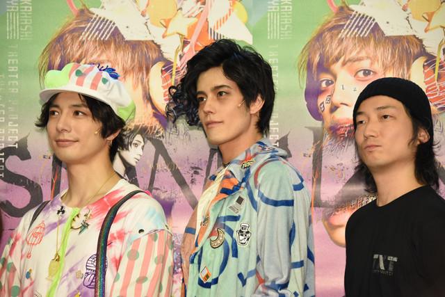 左から和田琢磨、岩永徹也、高橋悠也。