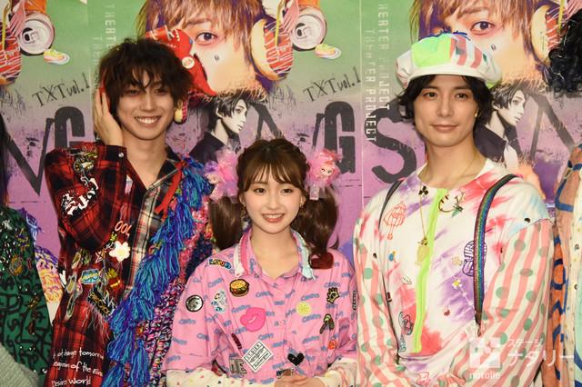 左から有澤樟太郎、井上小百合、和田琢磨。