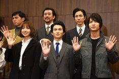 舞台「アンフェアな月」第2弾「~刑事 雪平夏見シリーズ~『殺してもいい命』」囲み取材より。