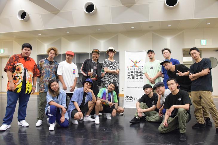 「DANCE DANCE ASIA―Crossing the Movements 東京公演 2019」公開リハーサルより。