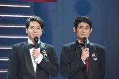 左から福田悠太、松崎祐介。