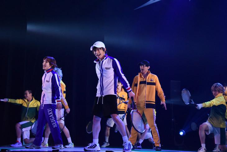 「ミュージカル『テニスの王子様』3rdシーズン 全国大会 青学(せいがく)vs立海 前編」より。