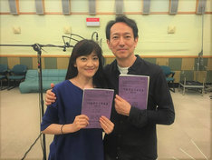 左から島田歌穂、鈴木壮麻。(写真提供:NHK)