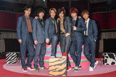 男劇団 青山表参道X 第2回公演「ENDLESS REPEATERS -エンドレスリピーターズ-」の出演者。