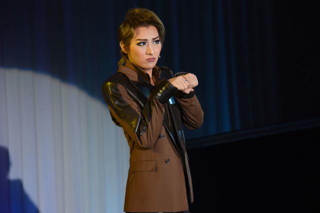 宝塚歌劇月組「ミュージカル『I AM FROM AUSTRIA-故郷(ふるさと)は甘き調(しら)べ-』」制作発表会より。