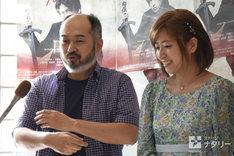 「HAMLET ―ハムレット―」囲み取材より、森新太郎、南沢奈央。
