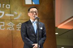 東急文化村の中野哲夫代表取締役社長。