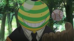 アニメ「暗殺教室」より。