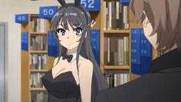 咲太と同じ高校に通う人気女優の桜島麻衣。周囲の人間に認識されなくなるという思春期症候群を発症したが、咲太によって救われた。