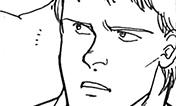 """アッシュとともにバナナフィッシュの謎を追うマックス。時に""""父親""""を演じ敵を欺くことも。"""