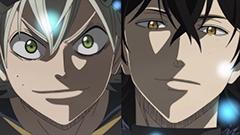 アニメ第14話より。アスタとユノはとある魔宮(ダンジョン)で再会する。