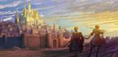 3で舞台の1つとなる聖王国のイメージ。