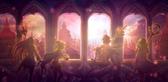 3で舞台の1つとなる賢者の塔のイメージ。