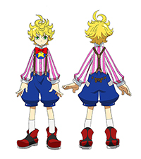 平尾リョウがデザインを手がけたキャラクター・風郎太。