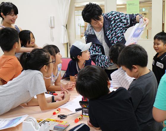 アート・マジカル学園 アート体験支援型託児 アートサポート児童館