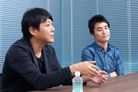 左から石橋和章氏、葛西歩編集長。