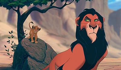 「ライオン・キング」より。