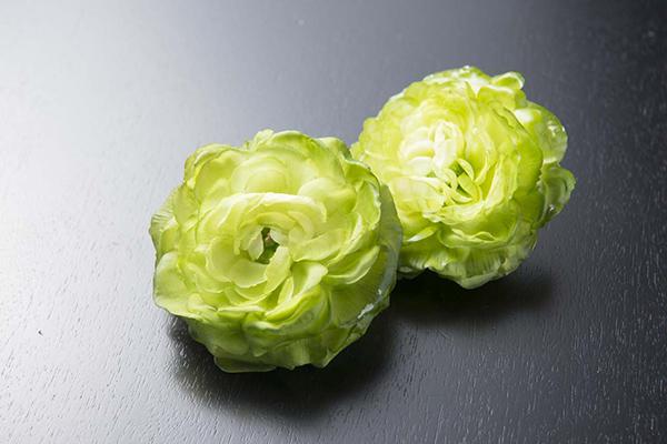 花苔の食品サンプル。
