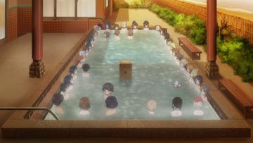 「劇場版」より。4D上映ではお風呂シーンでシャボン玉が飛び交った。