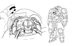 規格Ⅳ型耐炎・耐電磁外骨格戦車 アドメラルク