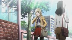 梶裕貴演じる林憲明。9歳から殺人訓練を受けていた殺し屋で、仕事時は趣味で女装している。