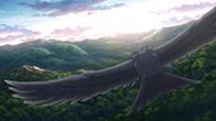 「ハクメイとミコチ」には、背景が見どころとなるシーンが多い。