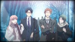 テレビアニメ「ヲタクに恋は難しい」エンディングより。