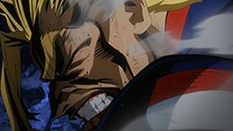 アニメ「僕のヒーローアカデミア」第3期「ワン・フォー・オール」の場面カット。