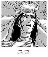 ニコ:岩山の村の戦闘的なイムリをまとめる頭領。
