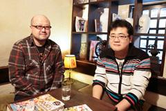 左から鈴木健一、津田尚克。