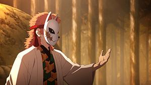 アニメ「鬼滅の刃」第3話より。