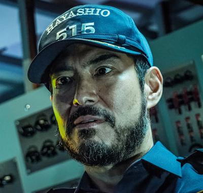 映画「空母いぶき」より、髙嶋政宏演じる滝隆信。