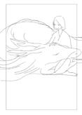 カバーイラスト作成行程の画像