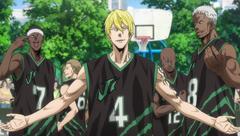 「劇場版 黒子のバスケ LAST GAME」よりストリートバスケットボールチーム・Jabberwockのメンバー。