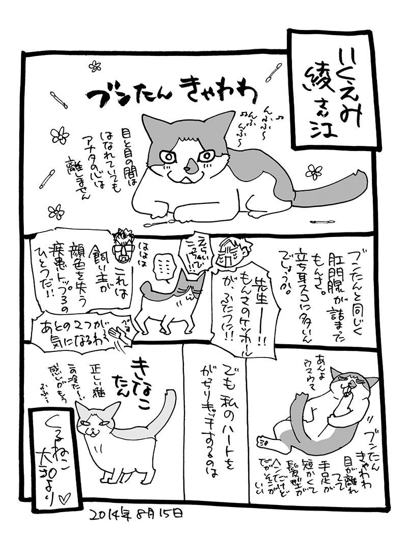 交換日記(1)くるねこ大和→いくえみ綾