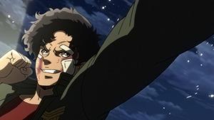 アニメ「メガロボクス」より、ジョー(CV:細谷佳正)。