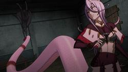半人半蛇のモンスター娘・サーフェは、尻尾を使って攻撃を繰り出すことも。