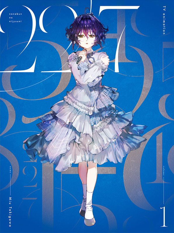 アニメ「22/7」Vol.1 完全生産限定版 Blu-ray