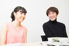 左から、土屋太鳳、橋本光二郎監督。
