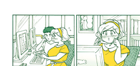 「パティシエさんとお嬢さん」1巻「彼女の場合」より。