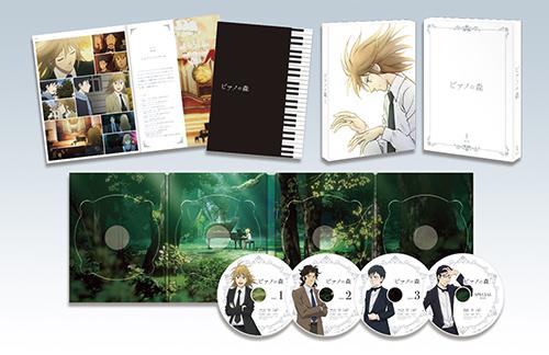 TVアニメ「ピアノの森」Blu-ray BOX①