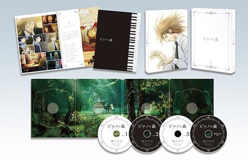 TVアニメ「ピアノの森」DVD BOX①