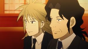 TVアニメ「ピアノの森」第8話より。